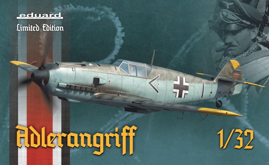 Eduard Adlerangriff 1/32 Bf-109E (Limited Edition)