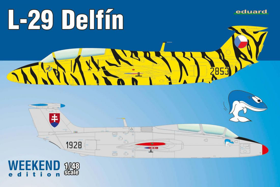 Eduard L-29 Delfín 1/48 Weekend Edition